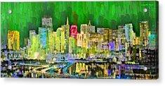 San Francisco Skyline 124 - Da Acrylic Print