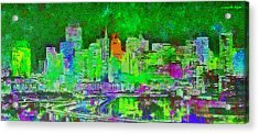 San Francisco Skyline 133 - Da Acrylic Print