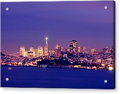 San Francisco Skyline Acrylic Print by Kevin Ho