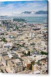 San Francisco Vista Acrylic Print