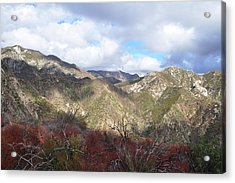 San Gabriel Mountains National Monument Acrylic Print by Kyle Hanson