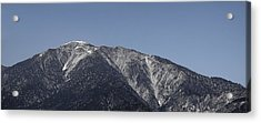 San Gabriel Mountains Acrylic Print