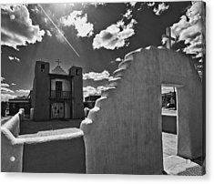 San Geronimo Chapel Taos Pueblo Acrylic Print