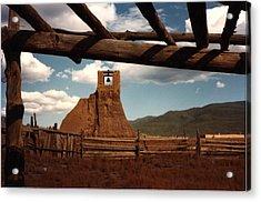 San Geronimo Church Ruins Acrylic Print by Kathleen Stephens