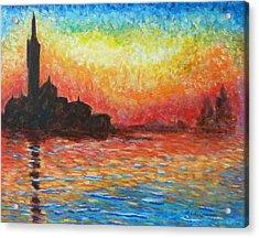 San Giorgio At Dusk Acrylic Print