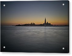 San Giorgio Sunset 0933 Acrylic Print