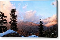 San Jacinto Mountains - California Acrylic Print by Glenn McCarthy Art and Photography