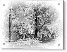 Acrylic Print featuring the photograph San Jose De Dios Cemetery by Sean Foster