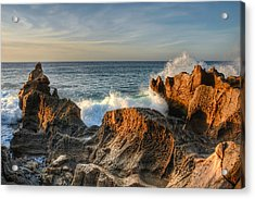 San Jose Del Cabo Early Morning Acrylic Print by Rich Beer