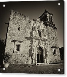 Acrylic Print featuring the photograph San Jose Mission - San Antonio by Stephen Stookey