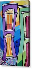 San Juan Alegre-4 Acrylic Print by Mary Tere Perez