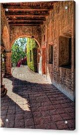 San Juan Archway Acrylic Print
