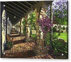 San Juan Capistrano Acrylic Print by Lisa Reinhardt
