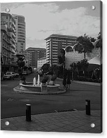 San Juan Fountain II Acrylic Print