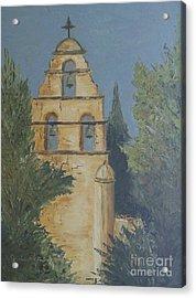 San Juan Mission Acrylic Print