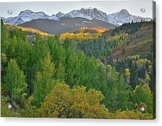 Acrylic Print featuring the photograph San Juan Mountain Sunset by Ray Mathis