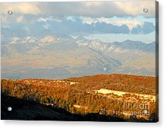 San Juan Mountains Acrylic Print by David Lee Thompson