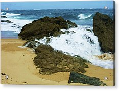 San Juan Surf II Acrylic Print