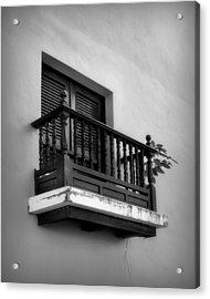 San Juan Window 2 Acrylic Print by Perry Webster