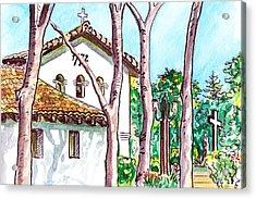 San Louis Obispo Mission Acrylic Print