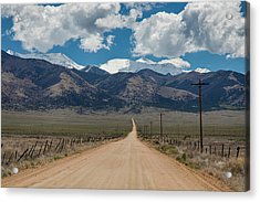 San Luis Valley Back Road Cruising Acrylic Print by James BO Insogna