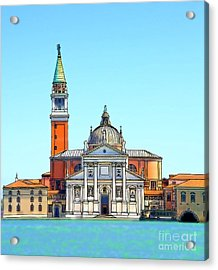 San Giorgio Maggiore, Venice Acrylic Print by Phil Robinson