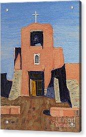 San Miguel Mission In Santa Fe Acrylic Print