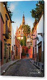 San Miguel Pueblo Magico Acrylic Print