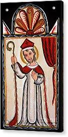 San Nicolas - St. Nicholas - Aosni Acrylic Print