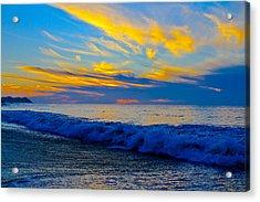 San Pancho Sunset Acrylic Print