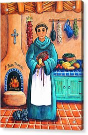 San Pascual In Blue Acrylic Print