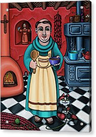 San Pascual Paschal Acrylic Print