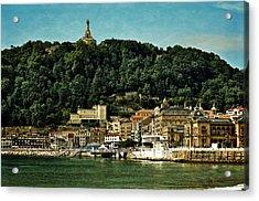 San Sebastian Spain Acrylic Print