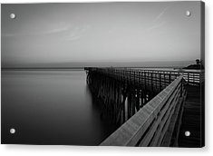 San Simeon California Long Exposure Acrylic Print