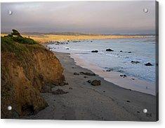 San Simeon Coastal II Color Acrylic Print by David Gordon