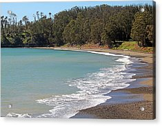 Acrylic Print featuring the photograph San Simeon Cove by Art Block Collections