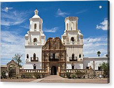 San Xavier Mission Acrylic Print