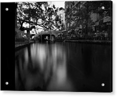 Sanantonio Long River Acrylic Print by Luca Baldassari