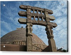 Sanchi Acrylic Print by Mohammed Nasir