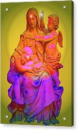 Sancta Maria No. 02 Acrylic Print by Ramon Labusch
