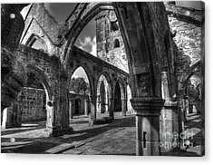 Sanctuarium Contritum Unum Acrylic Print by John Ellison