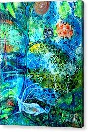 Sanctuary Acrylic Print by Julie Engelhardt