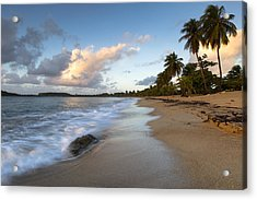 Acrylic Print featuring the photograph Sand And Sea by Patrick Downey