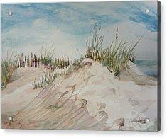 Sand And Sky Acrylic Print by Dorothy Herron