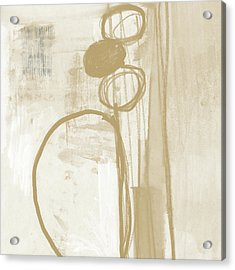 Sand And Stone 2- Contemporary Abstract Art By Linda Woods Acrylic Print