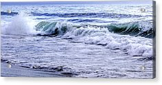 Sand And Surf  Acrylic Print