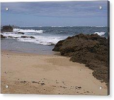 Sand And Surf San Juan Acrylic Print by Anna Villarreal Garbis