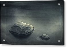 Sand And Water Acrylic Print by Scott Norris