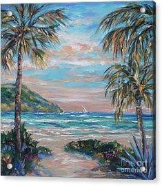 Sand Bank Bay Acrylic Print
