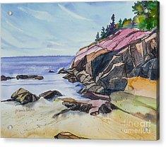 Sand Beach I Acrylic Print
